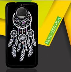Dream Catcher Black V1852 Casing Motorola Moto G5s Plus | Moto G6 Plus Custom Hard Case