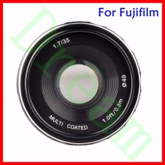 Mimpi Meike 35 Mm F1.7 Perdana Fixed Manual Lensa Fokus untuk Fuji Film X Mount Mirrorless APS-C Kamera X-A2 X-E2 x-M1 X-T1 X-Pro1-Intl