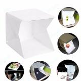 Jual Impian Foto Studio Tenda Mini Dapat Dilipat Fotografi Studio Portable Lampu Kotak Kit Dengan Lampu Led Led Lampu Tenda 22 6Cmx 23X24Cm Dua Blackgrounds Putih Dan Hitam Tiongkok