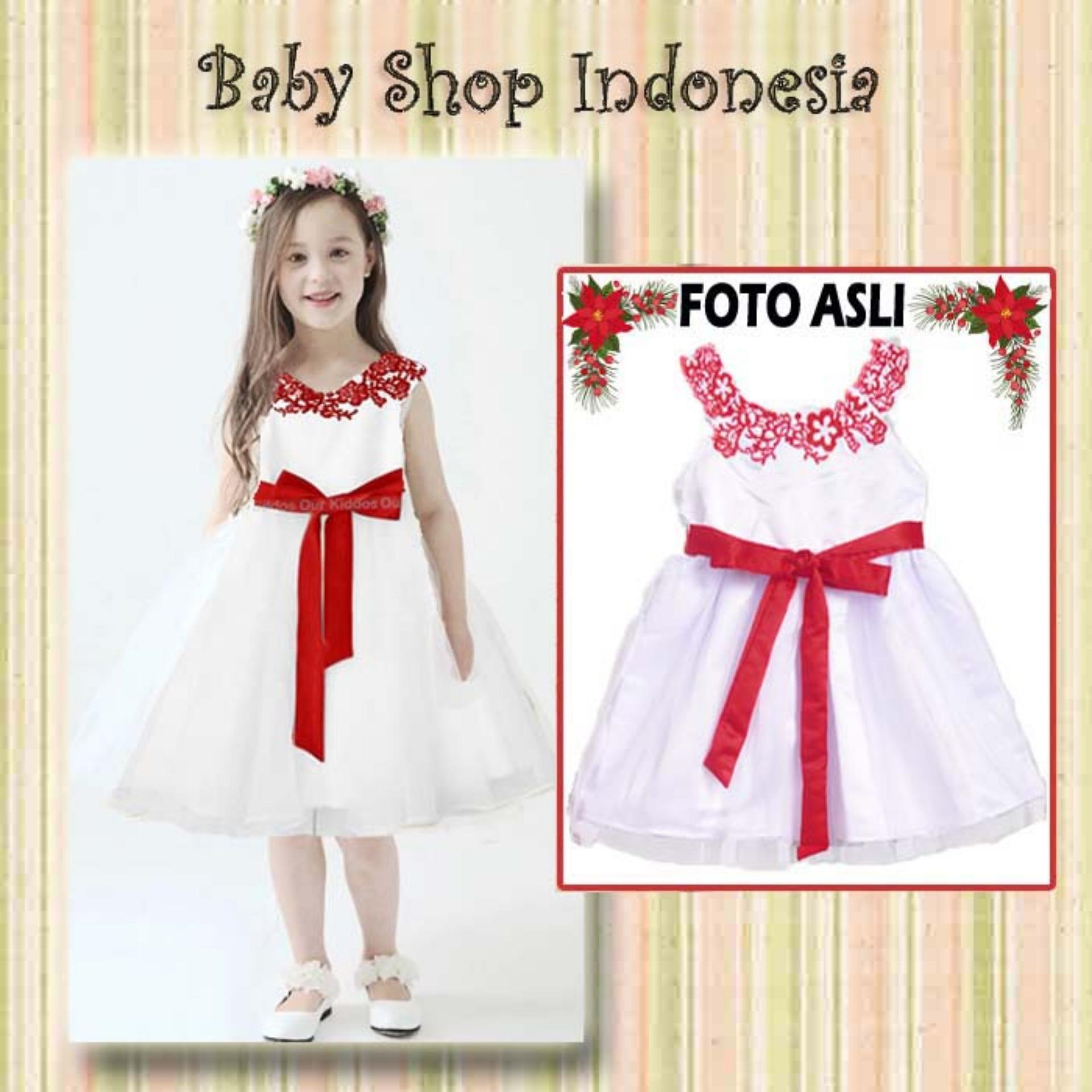Dress Anak Import Murah Dress Pesta Anak Import Dress Anak Putih Bordir