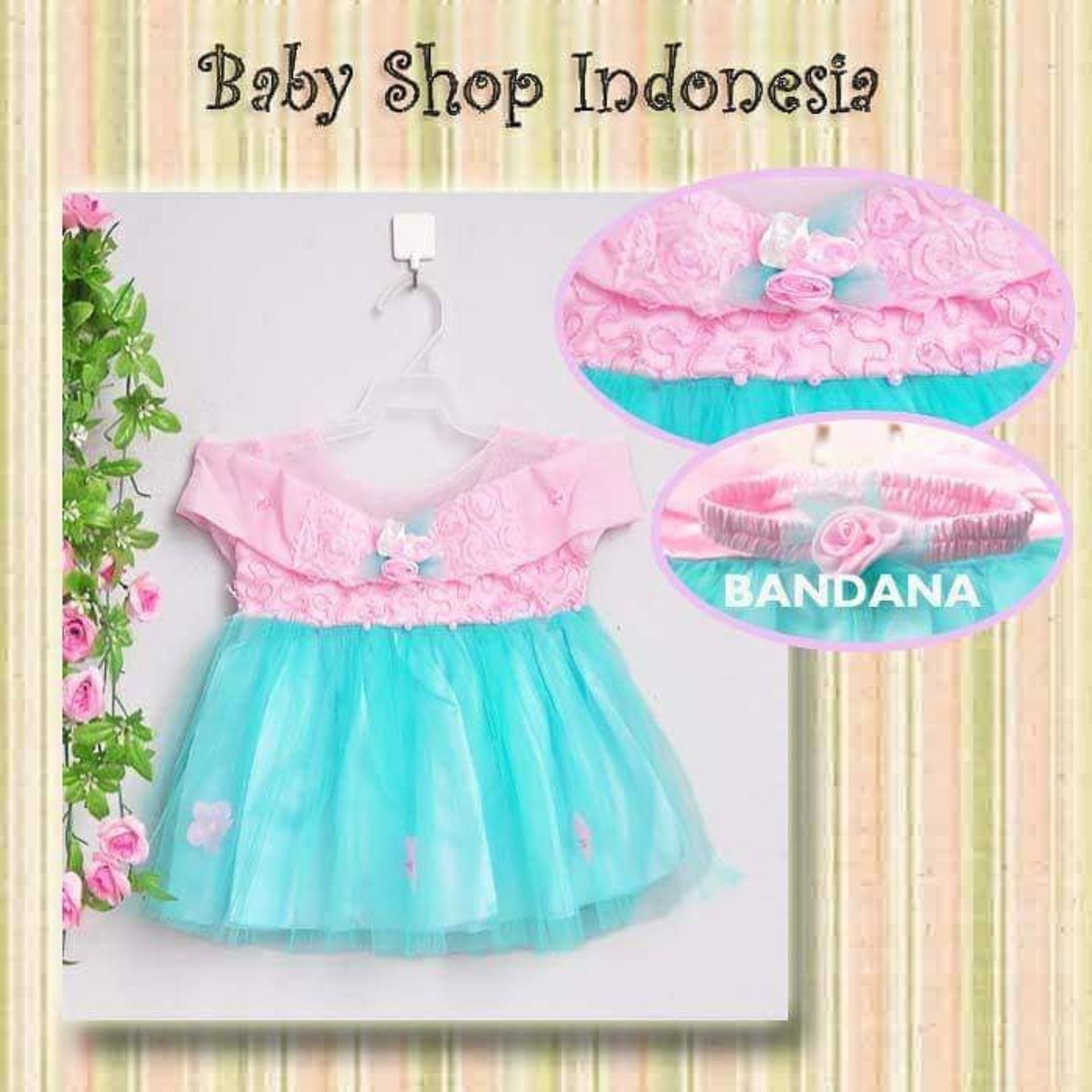 Dress Bayi Murah Dress Tutu Bayi Gaun Pesta Bayi Baju Bayi Perempuan Dress Cantik