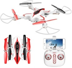 Drone Foldable Syma X56W dengan WiFi Camera Live Video 4CH Headless & Altitude Hold Mode One Key Take off Landing