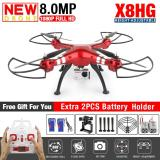 Beli Drone Syma X8Hg With 8Mp Hd Camera Altitude Hold Mode 2 4G 4Ch 6Axis Rc Quadcopter Rtf Bisa Angkat Kamera Action Cam