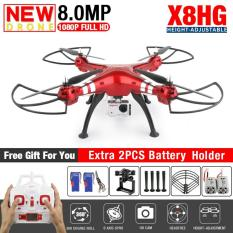 Toko Drone Syma X8Hg With 8Mp Hd Camera Altitude Hold Mode 2 4G 4Ch 6Axis Rc Quadcopter Rtf Bisa Angkat Kamera Action Cam Termurah Jawa Barat