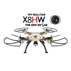 Beli Drone Syma X8Hw Camera 2 Mega Pixel Fpv Hd Real Time Rc Drone 2 4Ghz 6Axis Gold