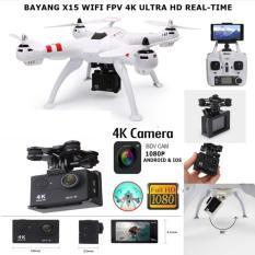 Drone X15 WIFI FPV 4K ULTRA HD REAL-TIME
