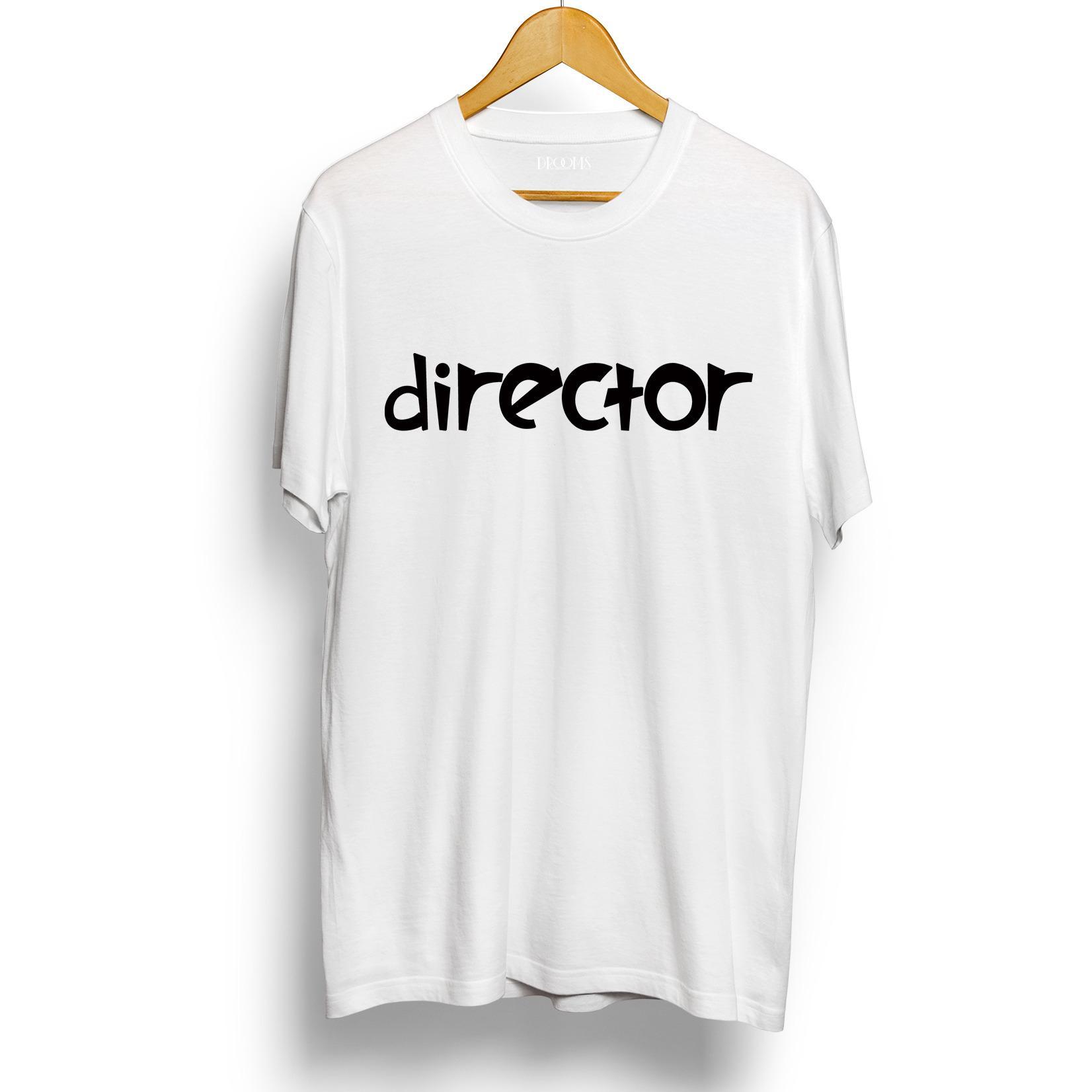Jual Drooms Kaos T Shirt Pria Wanita Director Lengan Pendek Original