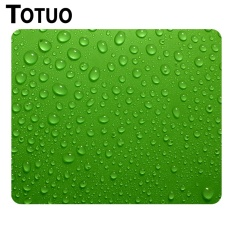 Drops Texture Picture Anti -Slip Laptop Pc Mousepad Gaming Mice Mat For Optical Laser Rubber Mouse Pad Wholesale And Retail