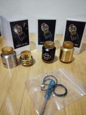 Promo Druga Rda 22Mm Plastic Box Premium Quality Clone Atomizer Vape Vapor Murah