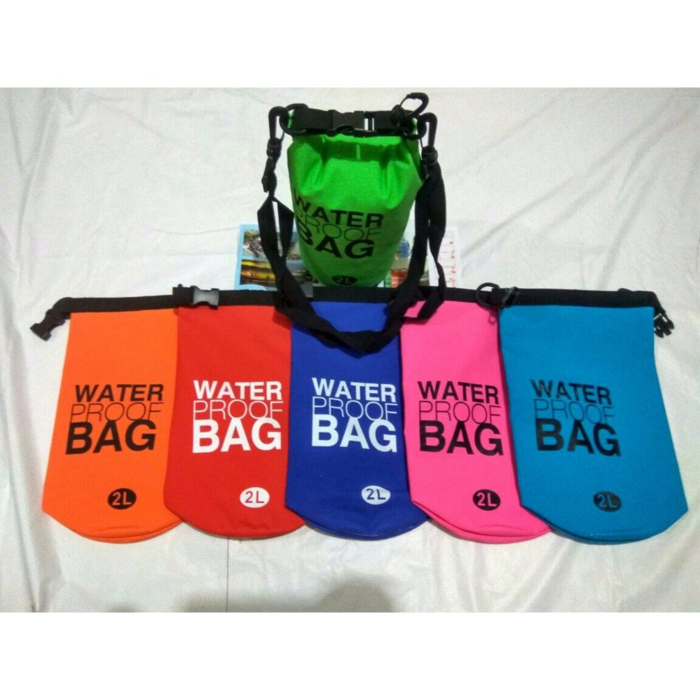 Beli Dry Bag Drybag 2 Liter Waterproof Bag Tas Anti Air Baru