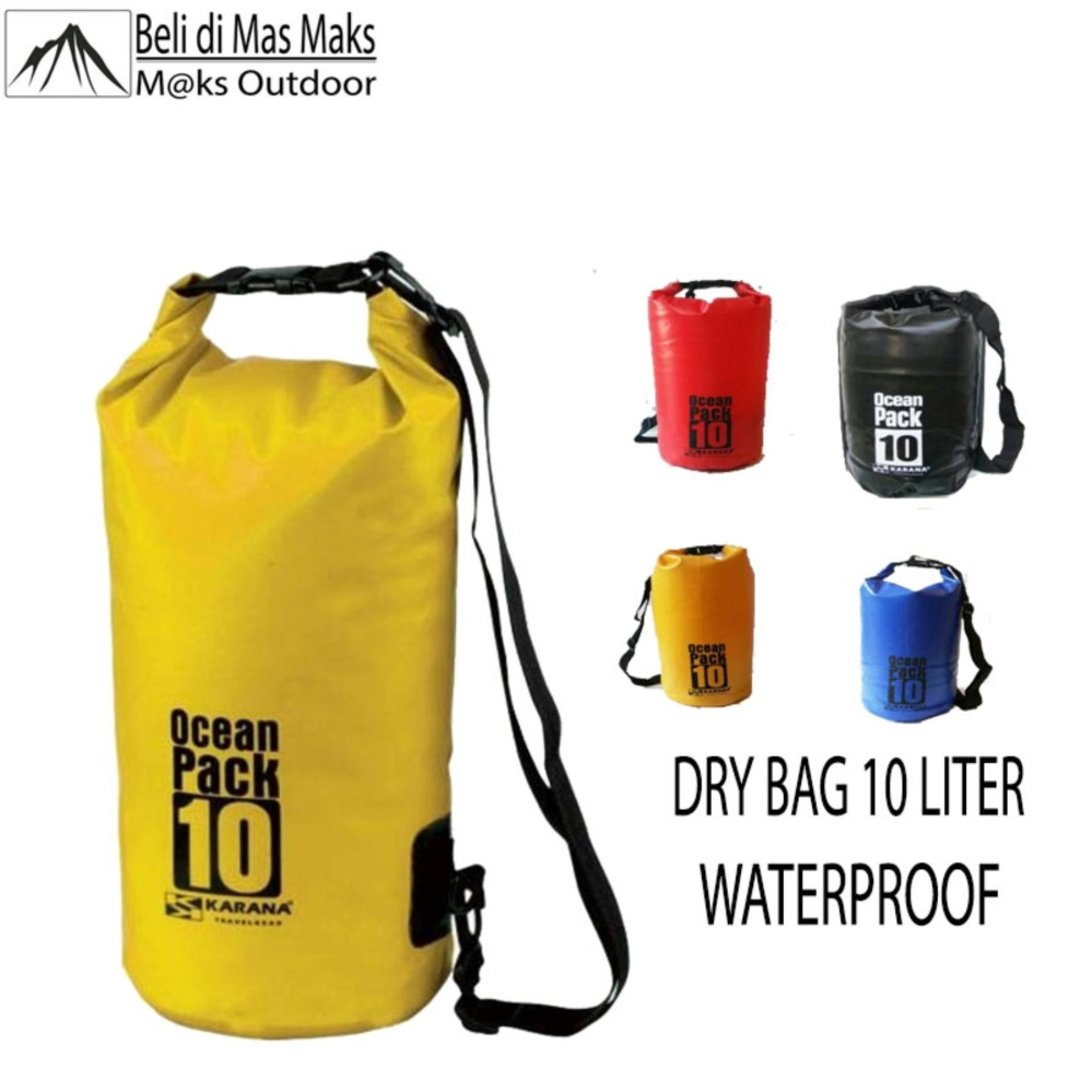 Beli Dry Bag 10 Liter Tas Anti Air Saat Olahraga Air Gadget Aman Waterproof Dry Bag Online