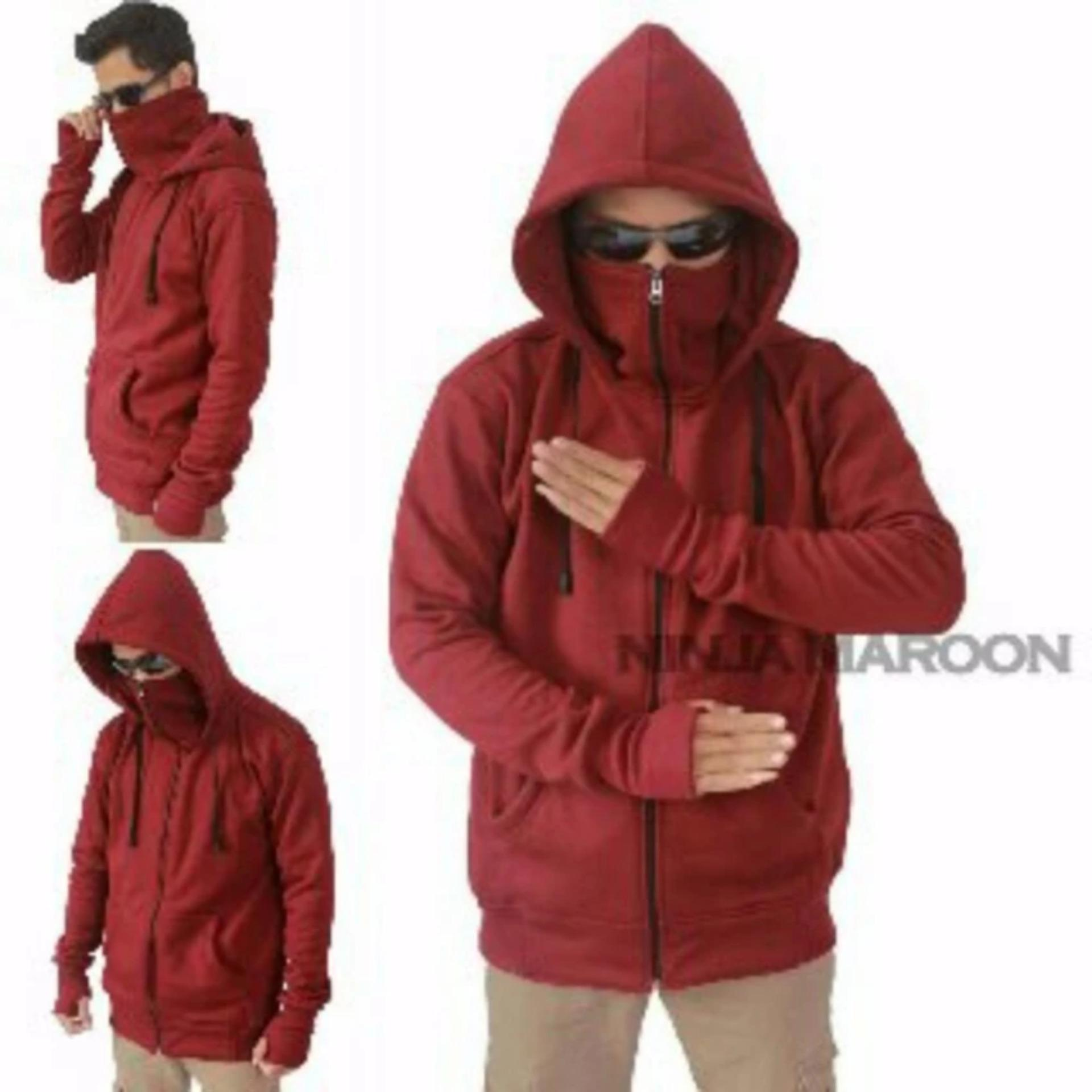 Diskon Ds Sweater Ninja Merah Ds