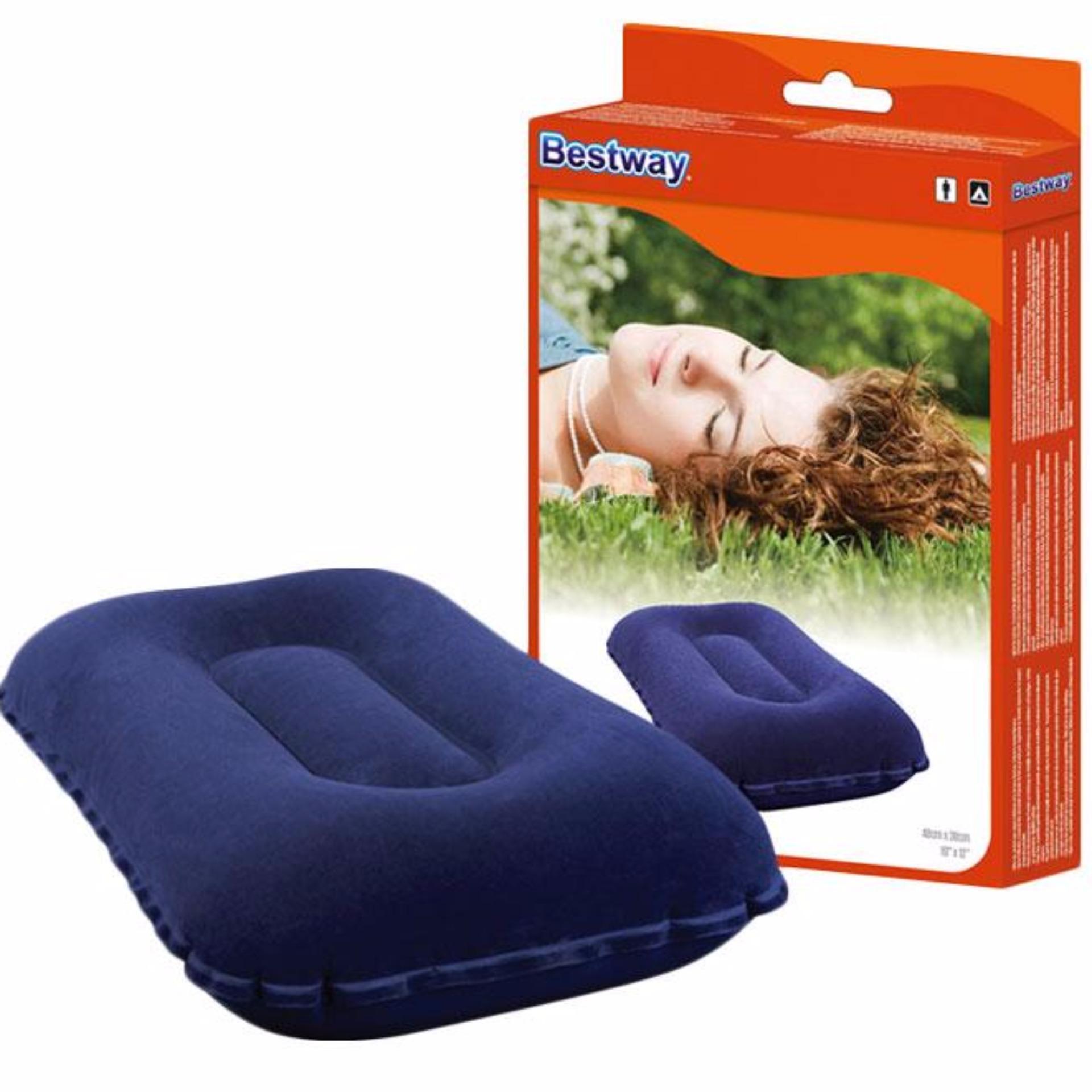 Jual Dsh Perlengkapan Travel Bantal Angin Camping Dan Piknik Bestway Import Branded Original