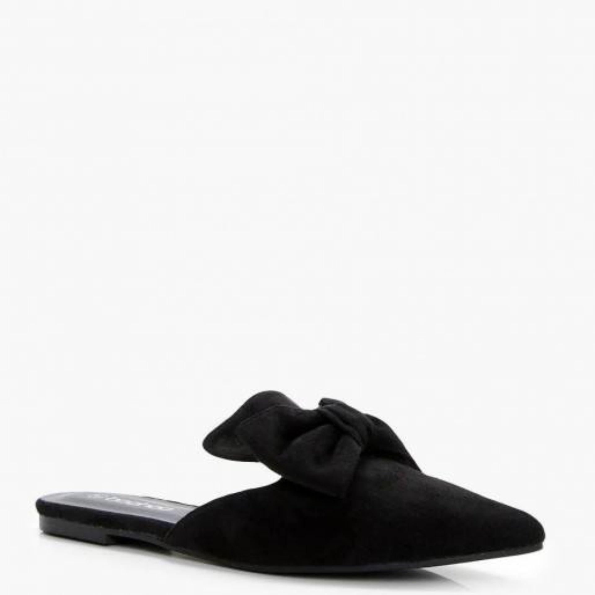 Buy Sell Cheapest Sandal Sepatu Mules Best Quality Product Deals Yongki Komaladi Loafers Casandra Black Hitam 36 Dshoppers Shoes Slide Kiara