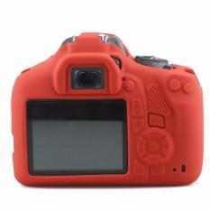 DSLR Kamera Digital Silikon Lembut Yang Bagus Karet Kamera Case Bag Lensbag untuk Canon 1300D Soft Case-Intl