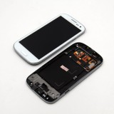 Beli Dsstyles Lcd Touch Screen Digitizer Display Assembly With Frame And Home Button For Samsung Galaxy S3 I9300 White