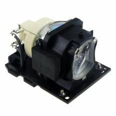 DT01181 TV Proyektor untuk Nude Lampu dengan Case untuk Hitachi BZ-1 CP-A220N CP-A221NM CP-A222NM CP-A222WN CP-A250NL CP-A301N CP-A301-Intl