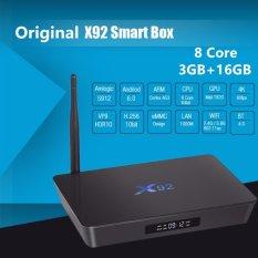 Dapatkan Segera Dtd Asli 3 Gb 16 Gb X92 Amlogic S912 Android 6 Tv Box Octa Core Kodi Player 16 1 Fully Loaded 5G Wifi X92 Smart Set Top Box Intl