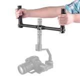 Jual Beli Dual Handheld Grip Bracket Kit Gimbal Extended Handle For Zhiyun Crane V2 Crane M For Feiyutech Mg Lite Mg V2 Handheld Gimbal Stabilizers Intl Di Tiongkok