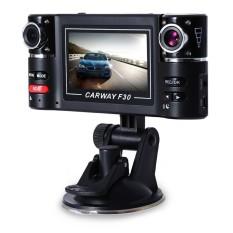 Dual Lens DVR Camcorder Kamera F30 Dual Lens 2.7 Inch AutoCamcorder Mobil DVR Kamera HD Kaca Depan Mengemudi Perekam Hot Sale & Nbsp-Intl
