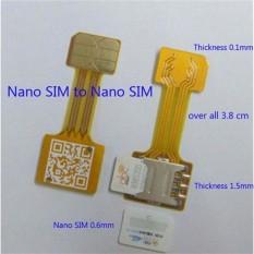 Dual Sim Card + Micro SD Converter - Hybrid Dual SIM Extension - Alat untuk Dual Sim Card Hybrid
