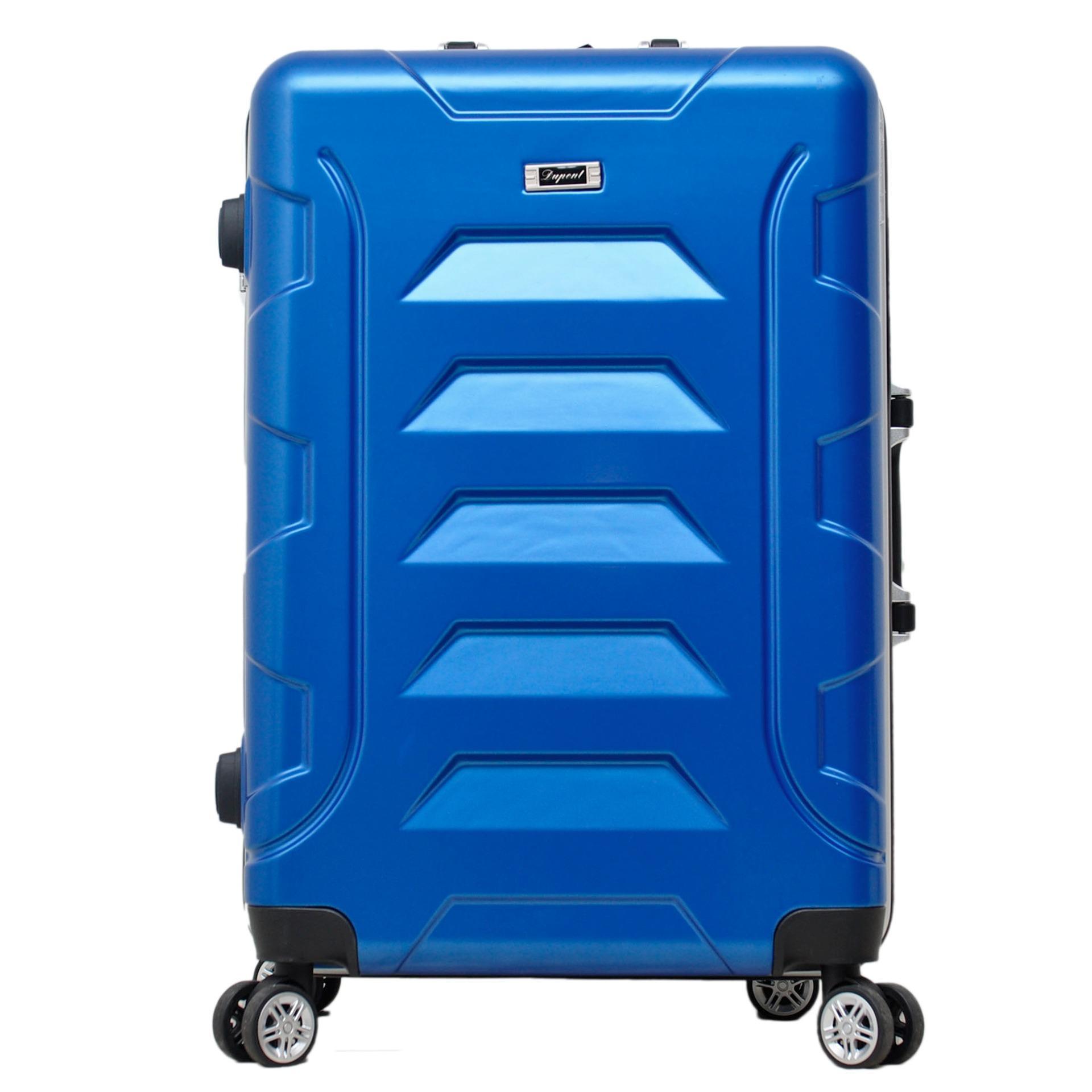 Promo Toko Dupont Koper Hardcase No Zipper Size 24 Inch 8771 Biru