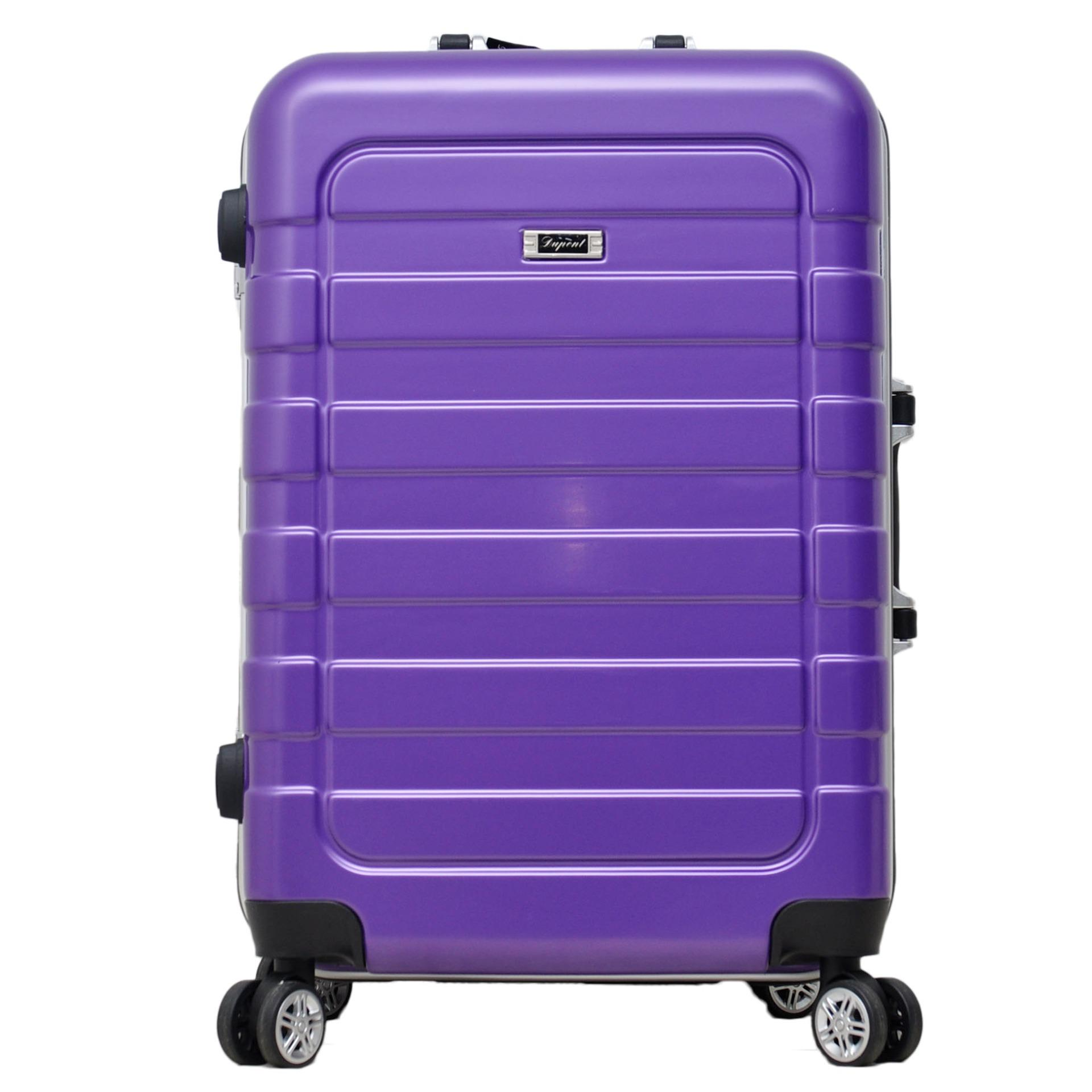 Harga Termurah Dupont Koper Hardcase No Zipper Size 24 Inch 8775 Ungu