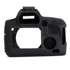 Karet Silikon Tahan Lama Protector Bag Body Camera Cover Case Kulit untuk Canon 6D Hitam-Intl
