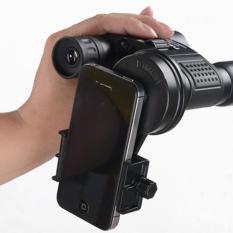 Tips Beli Tahan Lama Universal Portable Astronomical Telescope Smartphone Kamera Klip Hitam Mount Holder Adapter Yang Bagus