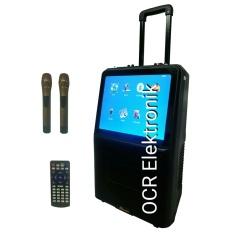 Spesifikasi Dusen Berg Portable Speaker Karaoke Al 2208 Bluetooth Led Tv 15 Inch Hitam Online