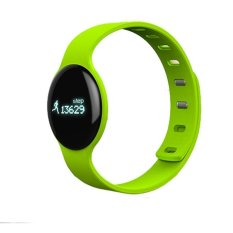 Dust-free & Water-resistant Bluetooth 4.0 TI CPU SmartBraceletHeart Rate and Sports Monitor Smart Wristband for Androidand iOSGreen - intl