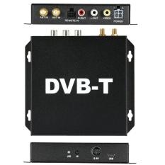 DVB-T Berbagai Channel Mobile Car Kotak TV Digital Analog Mini TVTuner Kecepatan Tinggi 240 Km/h Penerima Sinyal Kuat untuk Mobil Monitor-Intl