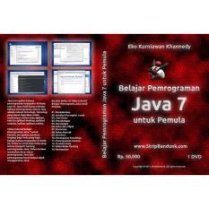 DVD Modul Video Tutorial Pemrograman Java Indonesia Untuk Pemula