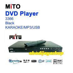 Promo Dvd Player Mito 3366 Black Usb Karaoke Garansi Resmi Akhir Tahun