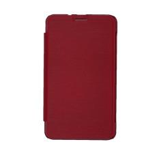Dyval advan Flip Cover T1R - Merah