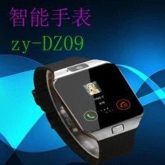 DZ09 Smart Watch Ponsel Mobile Phone Bluetooth Posisi Cardpedometer Anti Hilang Wearable Perangkat Produsen Menjual-Intl