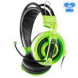 Jual E Blue Cobra Series Professional Gaming Headset Ehs013 Green Lengkap