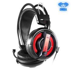Harga E Blue Cobra Series Professional Gaming Headset Ehs013 Red Fullset Murah