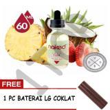 Promo E Liquid N*k*d Usa Premium Rokok Elektrik Refill Kemasan 1 Botol X 60 Ml Rasa Lava Flow Free 1 Pc Baterai Lg Coklat Akhir Tahun
