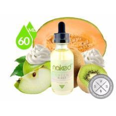 Toko Jual E Liquid N*k*d Usa Premium Rokok Elektrik Refill Kemasan 1 Botol X 60 Ml Rasa Green Blast