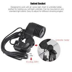 Spesifikasi E27 Bulb Holder Socket Pedang Flash Photo Light Lamp Mount Yg Baik