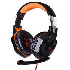 Toko Setiap G2000 Suara Stereo Headset Gaming 2 2 M Headphone Kabel Pengurangan Kebisingan With Mikrofon Tersembunyi For Pc Gam Internasional Yang Bisa Kredit