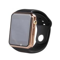 Eachgo 1.54-inch MTK6261 Bluetooth Smart Watch dengan Sport Pedometer Sync  untuk Ponsel (Emas a6ff3f7910