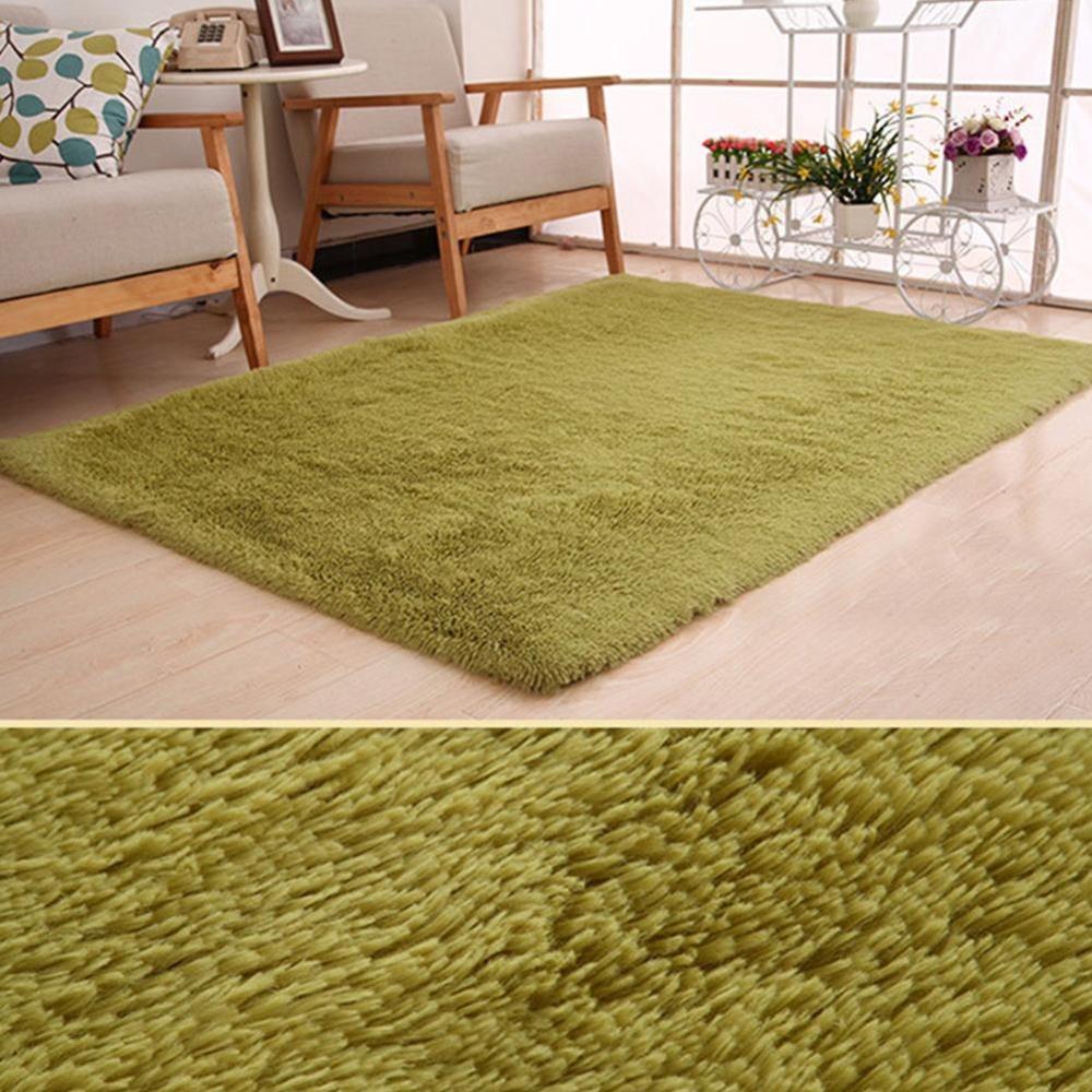 Eachgo 80X160 Cm Ruang Tamu Kamar Tidur Menebal Mewah Alas Bayi Keamanan Crawling Karpet-Internasional