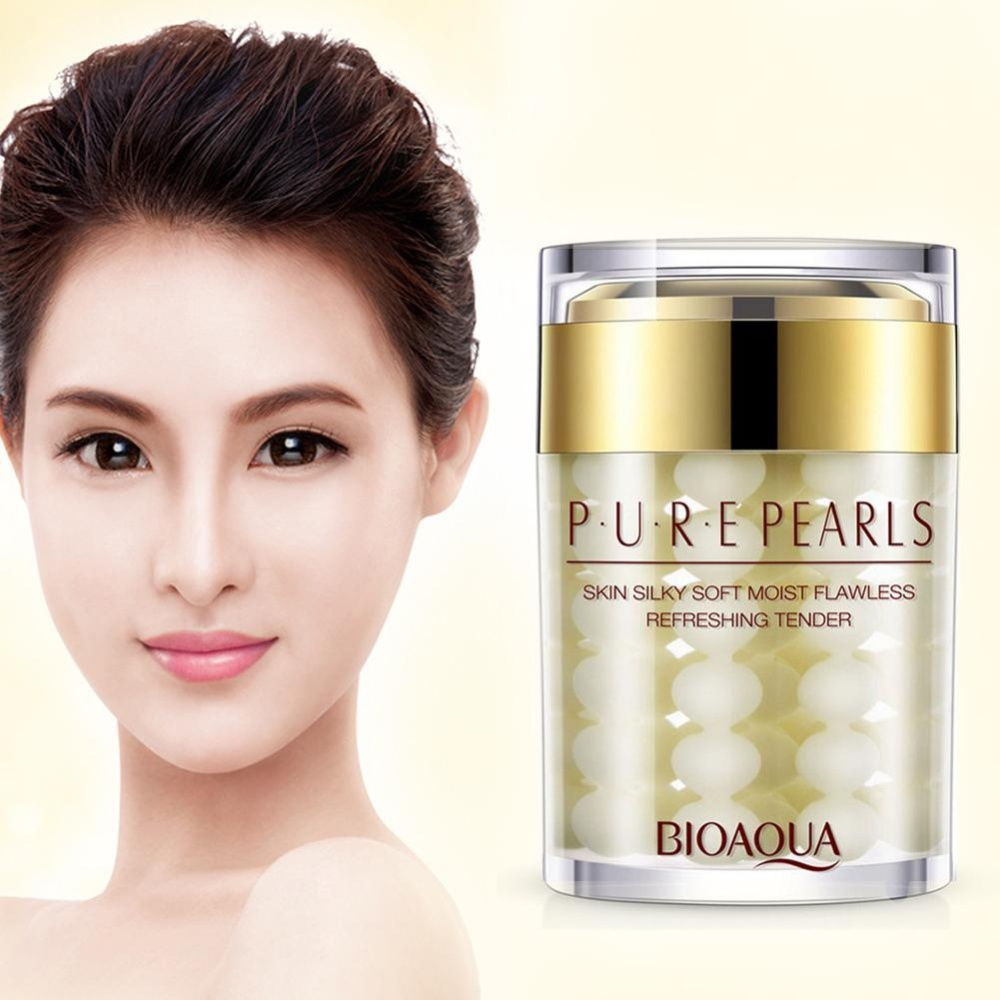 Cara Beli Eachgo Face Cream Pure Pearl Essence Hyaluronic Acid Moisturizing Skin Care Anti Wrinkle Whitening Mask Intl