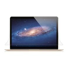 Eachgo High Glossy Apple New Macbook 15 Retina Laptop Screen Protector Guard Protection Film - intl