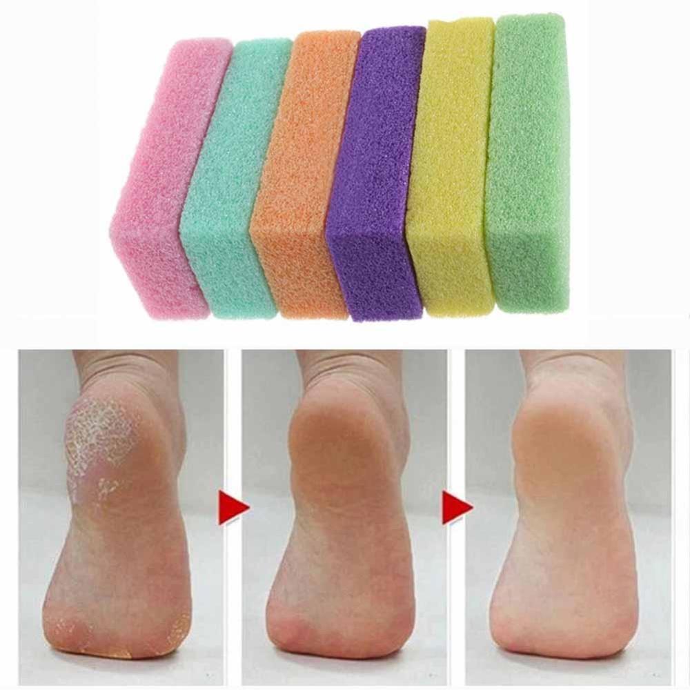 Beli Eachgo Pumice Sponge Batu Exfoliate Foot Feet Care Mati Kulit Kering Pedikur Kalus Kecantikan Warna Acak Intl Terbaru