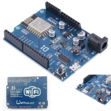Diskon Produk Eachgo Smart Electronics Wifi Uno Based Esp8266 Shield For Arduino Compatible Intl