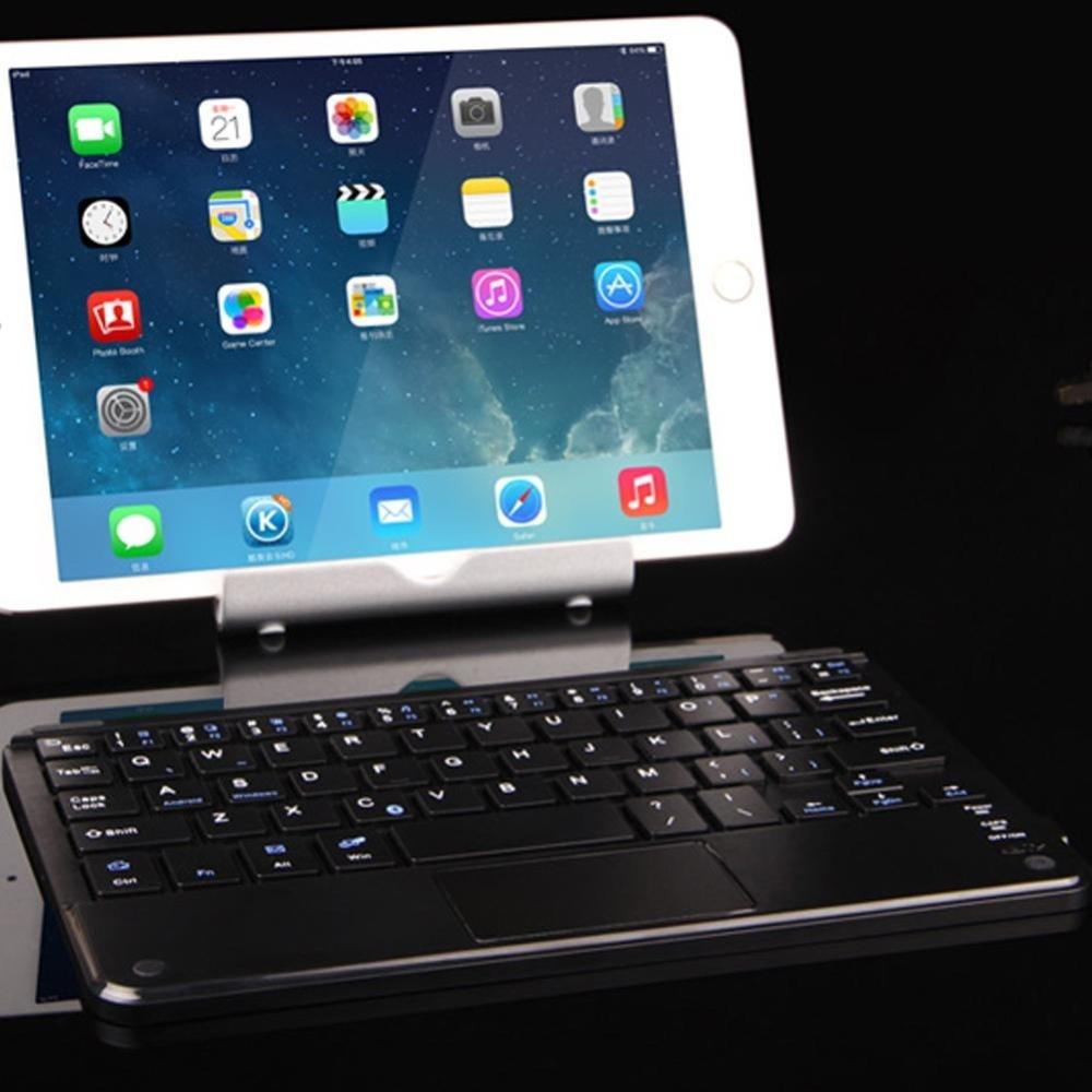 Eachgo Universal untuk Semua 7-10 Inch Android Tablet Windows Nirkabel Bluetooth Keyboard Touchpad Hitam-Intl