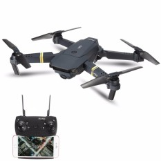 Eachine E58 WIFI FPV With 2MP Wide Angle Mirip Visuo XS809HW Dan DJI Mavic Pro Foldable RC Drone Quadcopter RTF